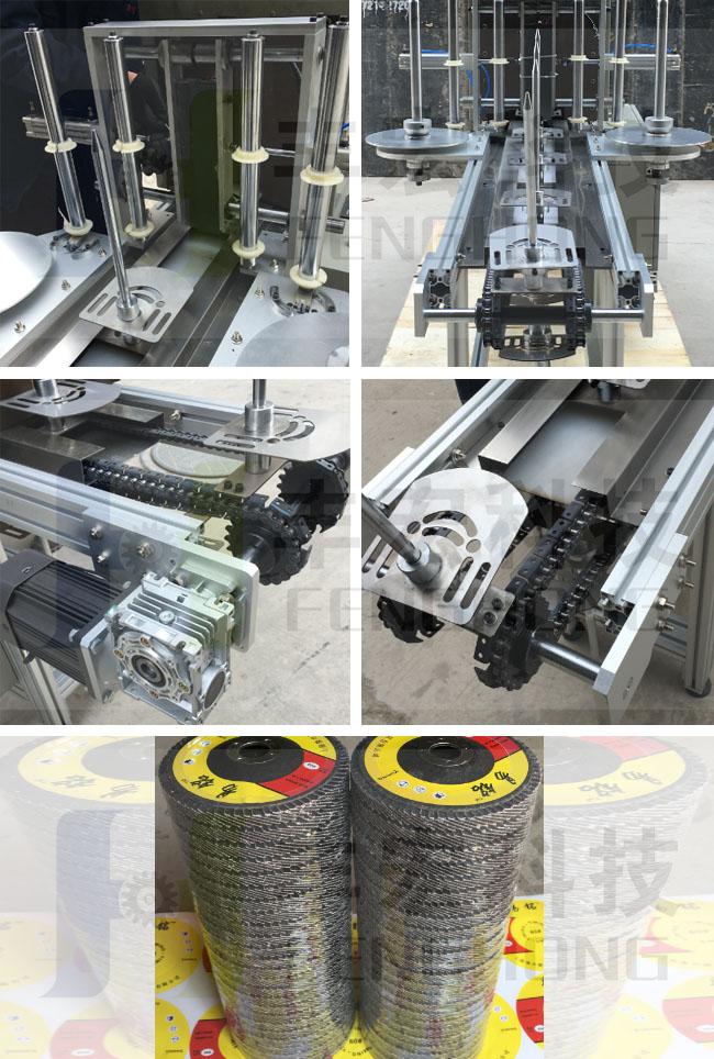 百叶轮塑封包装机细节